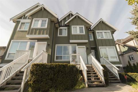 Townhouse for sale at 22382 Sharpe Ave Unit 102 Richmond British Columbia - MLS: R2365376