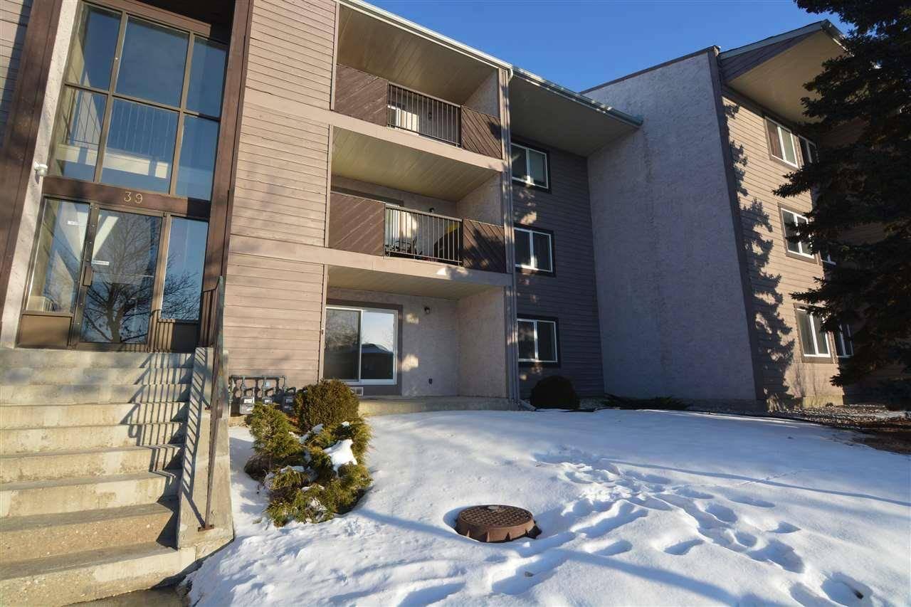 Condo for sale at 39 Akins Dr Unit 102 St. Albert Alberta - MLS: E4171814