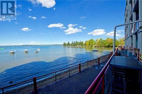 Condo for sale at 5100 Lakeshore Dr Unit 102 Sylvan Lake Alberta - MLS: ca0149612