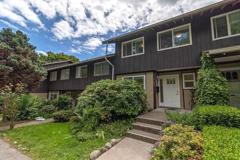 Townhouse for sale at 555 28th St W Unit 102 North Vancouver British Columbia - MLS: R2378765