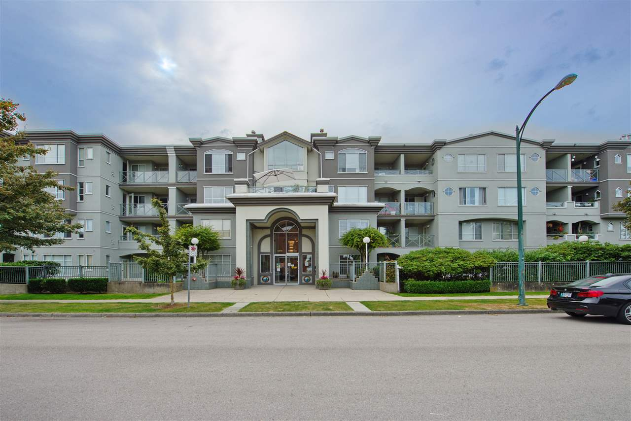 For Sale: 102 - 6475 Chester Street, Vancouver, BC   1 Bed, 1 Bath Condo for $455000.