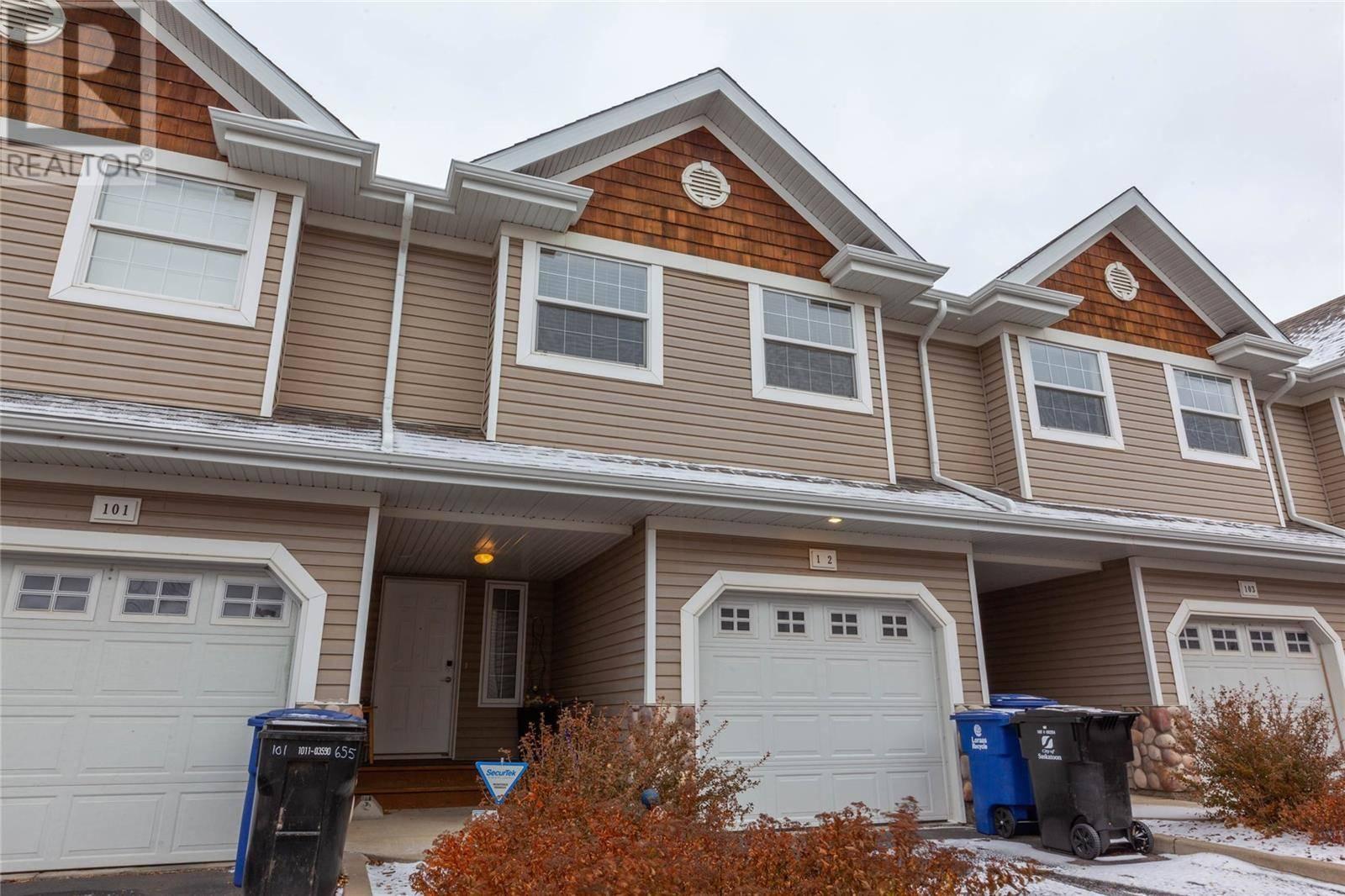 Townhouse for sale at 655 Kenderdine Rd Unit 102 Saskatoon Saskatchewan - MLS: SK790108