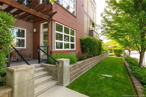 Condo for sale at 700 Martin Ave Unit 102 Kelowna British Columbia - MLS: 10182985