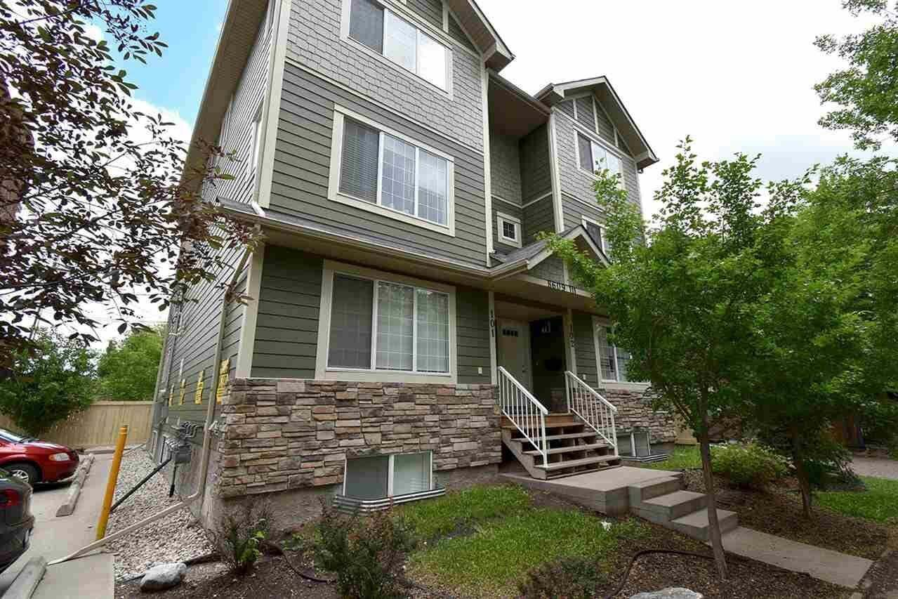 Townhouse for sale at 8609 111 St NW Unit 102 Edmonton Alberta - MLS: E4204272