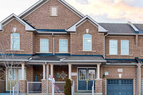 Townhouse for sale at 102 Bonnie Braes Dr Brampton Ontario - MLS: W4696030