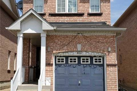 House for sale at 102 Del Francesco Wy Vaughan Ontario - MLS: N4518979