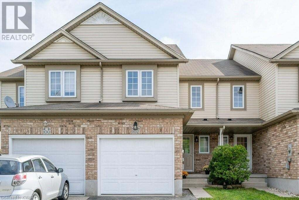 Townhouse for sale at 102 Donnenwerth Dr Kitchener Ontario - MLS: 30823821