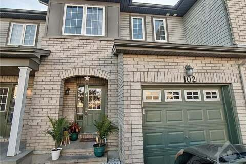 House for sale at 102 Esterbrook Dr Ottawa Ontario - MLS: 1212217