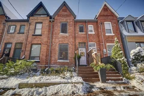 Townhouse for sale at 102 Hamilton St Toronto Ontario - MLS: E4632700