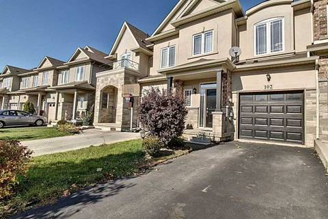 Townhouse for sale at 102 Highgate Dr Hamilton Ontario - MLS: X4615821