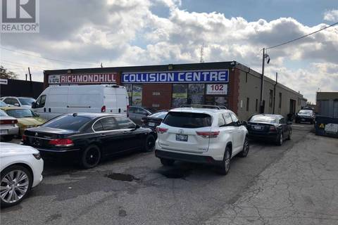 Commercial property for sale at 102 Industrial Rd Richmond Hill Ontario - MLS: N4573603