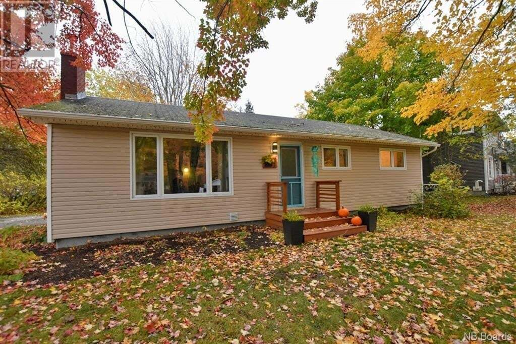 House for sale at 102 Liverpool St Fredericton New Brunswick - MLS: NB050565