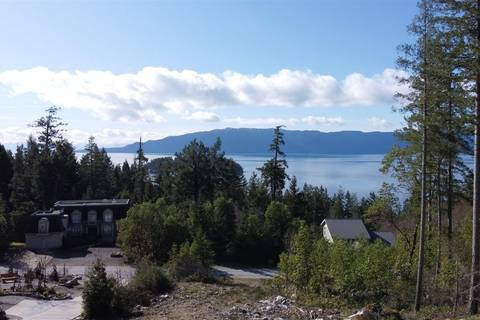 Residential property for sale at Lot 102 Johnston Heights Dr Unit 102 Garden Bay British Columbia - MLS: R2442764