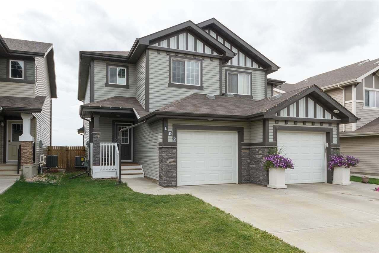 Townhouse for sale at 102 Santana Cr Fort Saskatchewan Alberta - MLS: E4212809