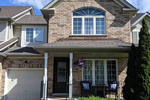 Townhouse for sale at 102 Thrushwood Dr Barrie Ontario - MLS: S4468243