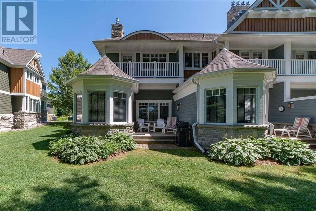 Townhouse for sale at 1020 Birch Glen Villa 12 Week 4 Rd Baysville Ontario - MLS: 276453