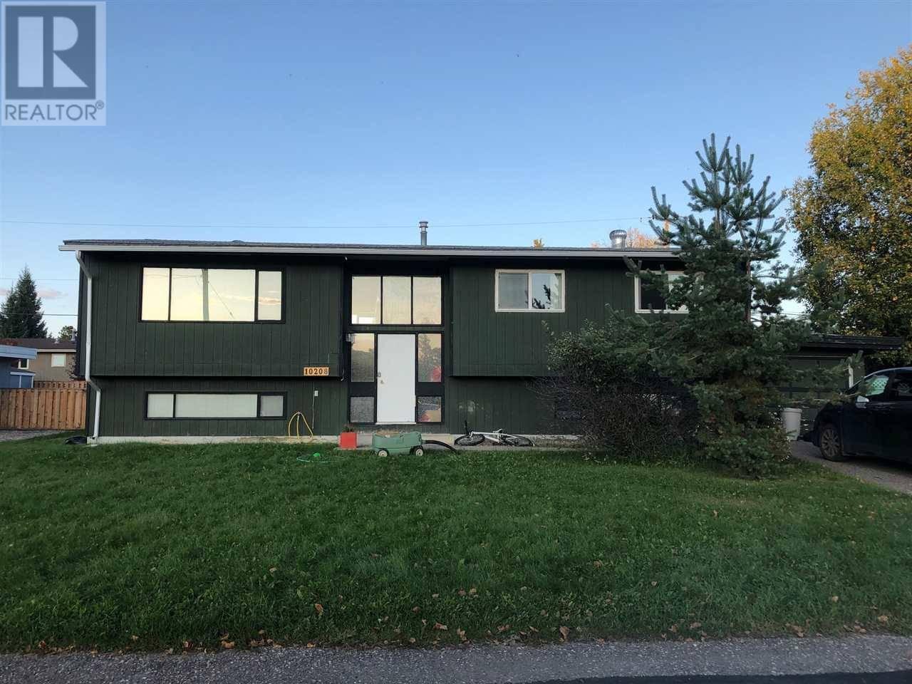 House for sale at 10208 Ellis Cres Hudsons Hope British Columbia - MLS: R2405025