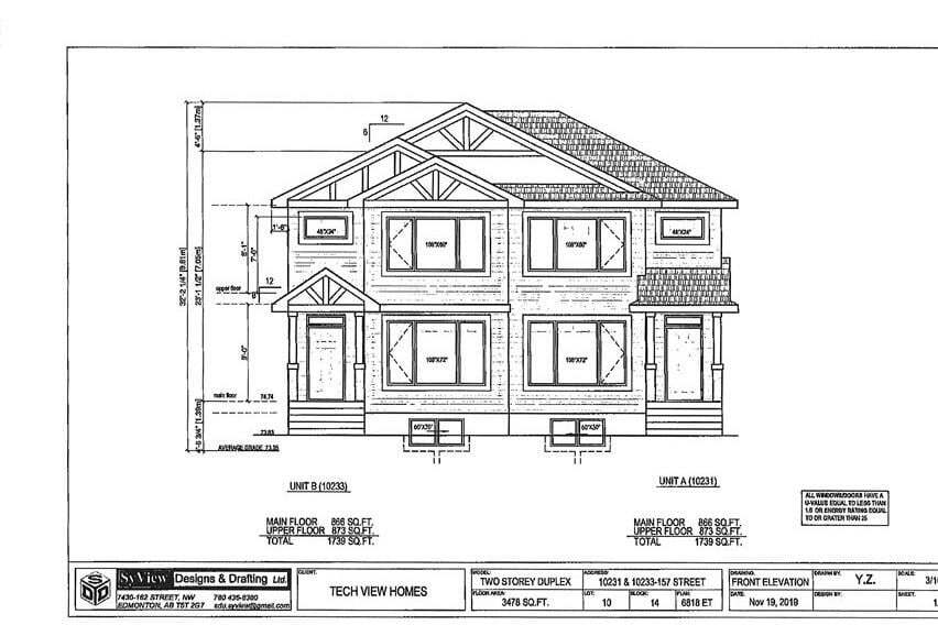 Townhouse for sale at 10231 157 St NW Edmonton Alberta - MLS: E4199516