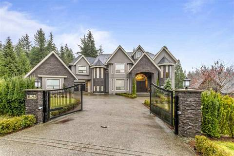 House for sale at 1025 Thomson Rd Anmore British Columbia - MLS: R2452082