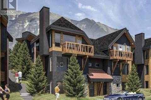 Townhouse for sale at 1200 Three Sisters Pw Unit 102b Canmore Alberta - MLS: 48374