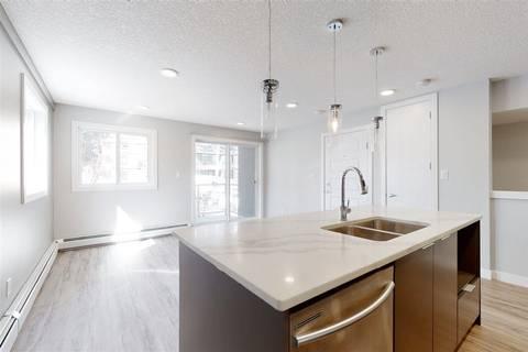 Condo for sale at 10736 116 St Nw Unit 103 Edmonton Alberta - MLS: E4195180