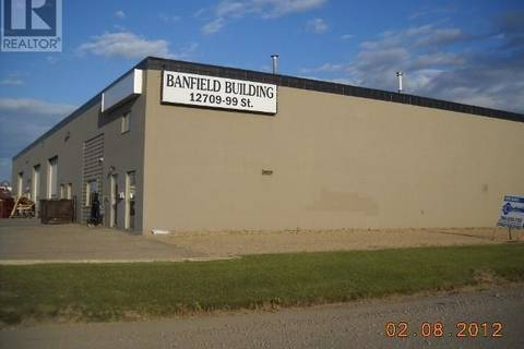 Commercial property for lease at 12709 99 St Apartment 103 Grande Prairie Alberta - MLS: GP203136