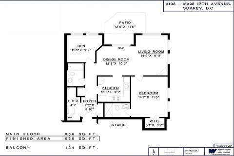 Condo for sale at 15325 17 Ave Unit 103 Surrey British Columbia - MLS: R2372021