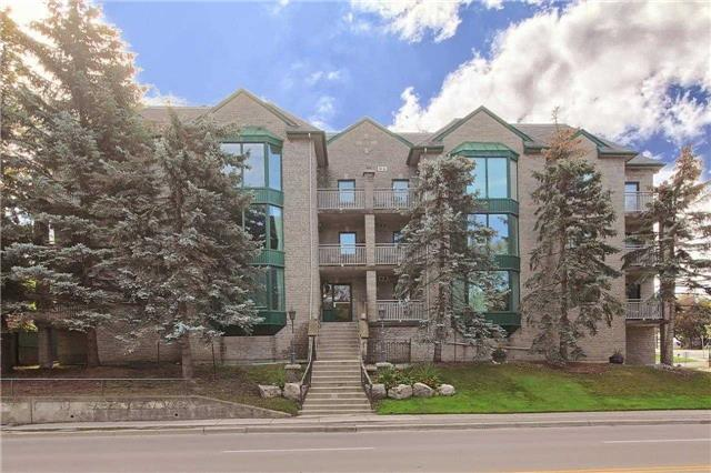 For Sale: 103 - 21 George Street, Aurora, ON | 1 Bed, 1 Bath Condo for $349,000. See 18 photos!