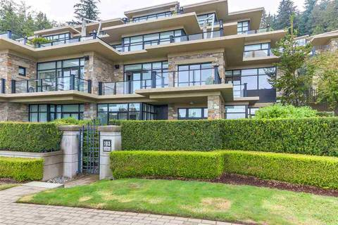 Townhouse for sale at 2285 Twin Creek Pl Unit 103 West Vancouver British Columbia - MLS: R2367192