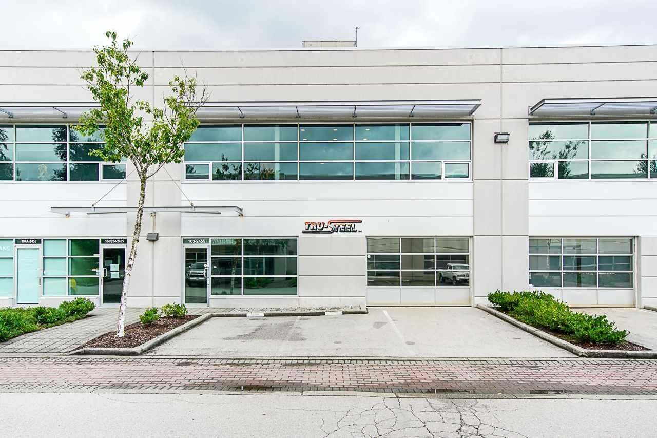 Commercial property for sale at 2455 Dollarton Hy Unit 103 North Vancouver British Columbia - MLS: C8033900