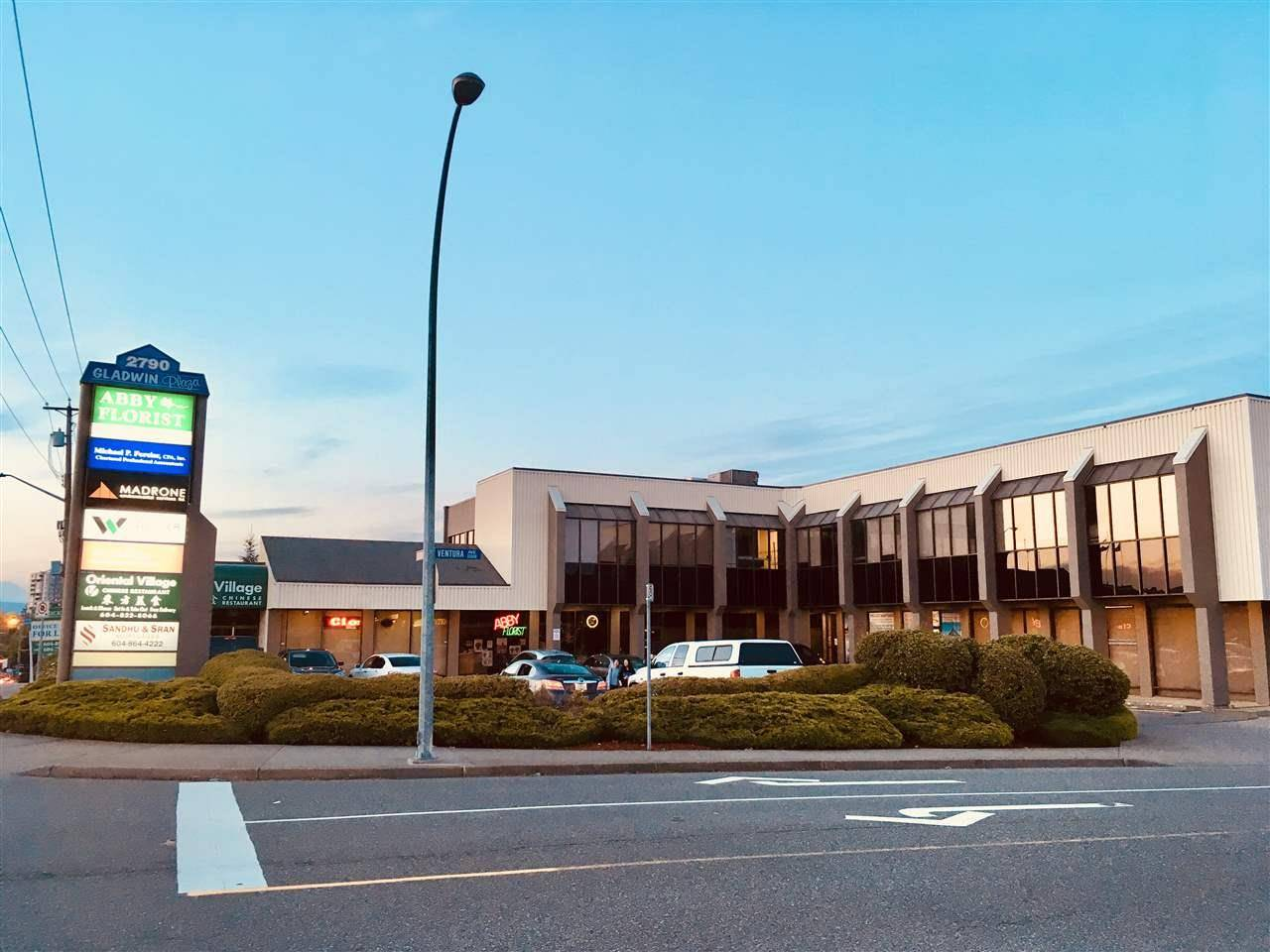 Commercial property for lease at 2790 Gladwin Rd Apartment 103 Abbotsford British Columbia - MLS: C8023154