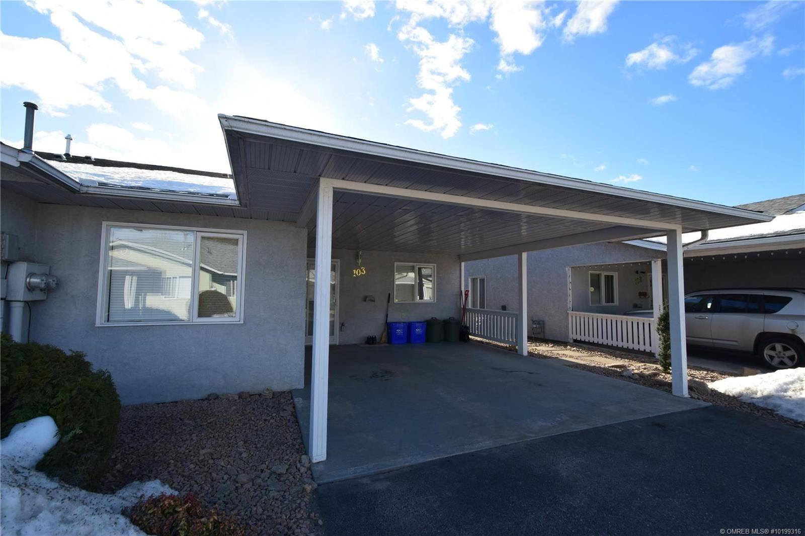 Townhouse for sale at 3900 27 Ave Unit 103 Vernon British Columbia - MLS: 10199316