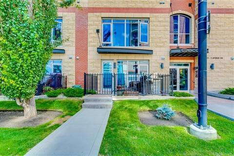 Townhouse for sale at 733 2 Ave Southwest Unit 103 Calgary Alberta - MLS: C4267134