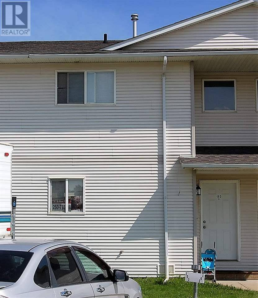 Townhouse for sale at 8220 92 Ave Unit 103 Fort St. John British Columbia - MLS: R2395177
