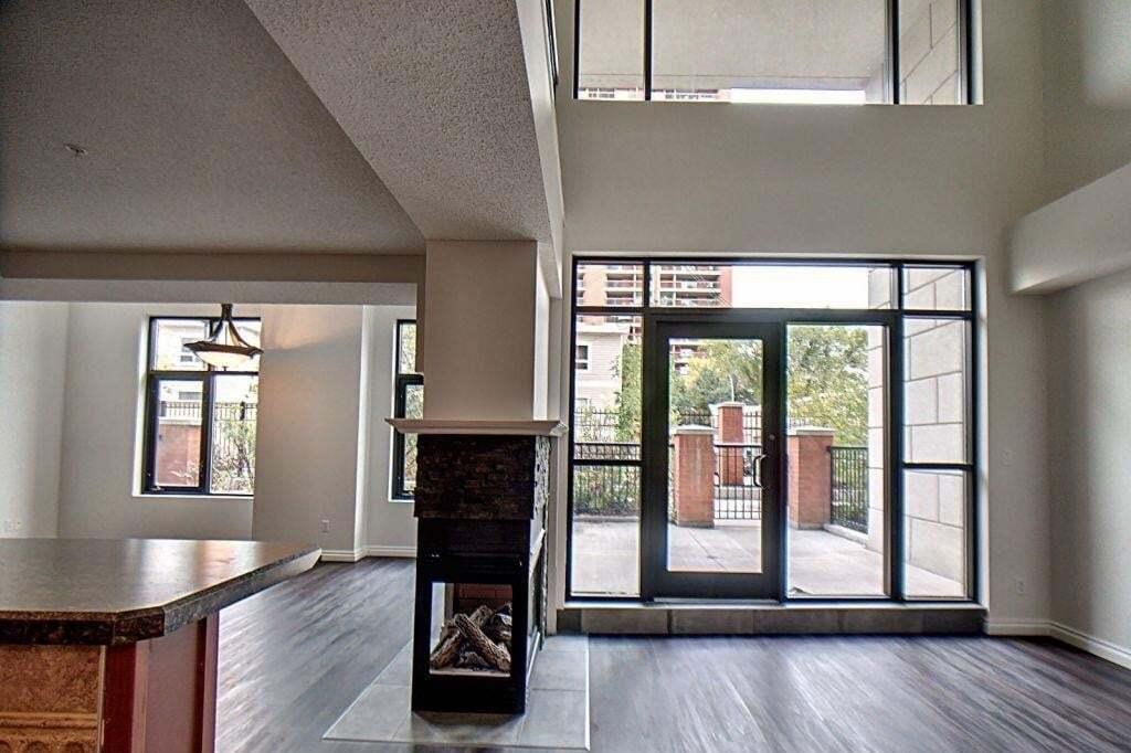 Condo for sale at 9020 Jasper Av NW Unit 103 Edmonton Alberta - MLS: E4215537