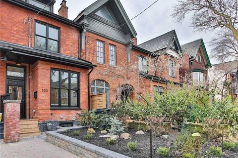Townhouse for sale at 103 Amelia St Toronto Ontario - MLS: C4443610