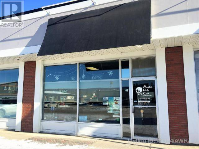 Commercial property for sale at 103 Athabasca Ave Hinton Valley Alberta - MLS: 48334