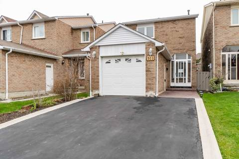 House for sale at 103 Chalfield Ln Mississauga Ontario - MLS: W4428576
