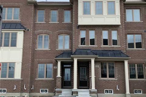 Townhouse for rent at 103 Cornell Centre Blvd Markham Ontario - MLS: N4579329