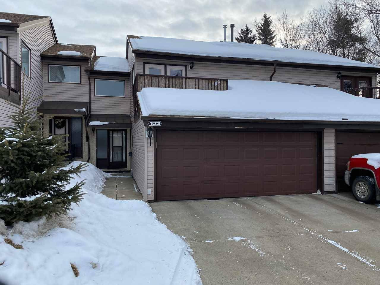 Townhouse for sale at 103 Grandin Wo  St. Albert Alberta - MLS: E4191223