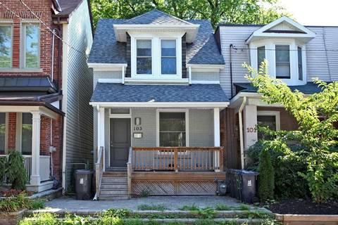 House for rent at 103 Logan Ave Toronto Ontario - MLS: E4547637