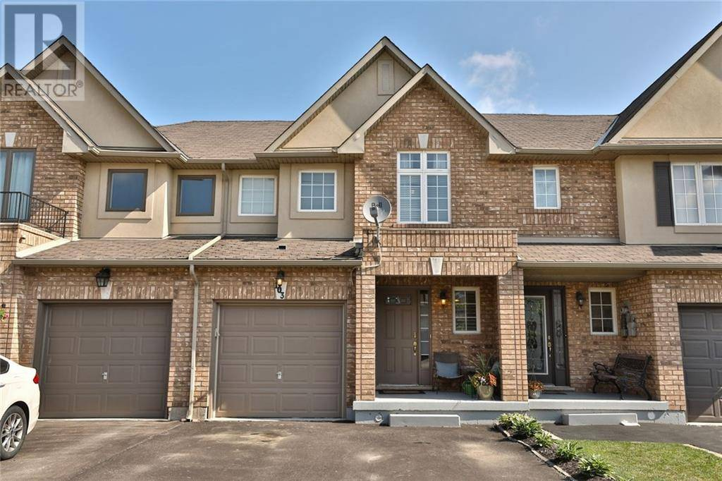 Townhouse for sale at 103 Meadow Wood Cres Stoney Creek Ontario - MLS: 30770545