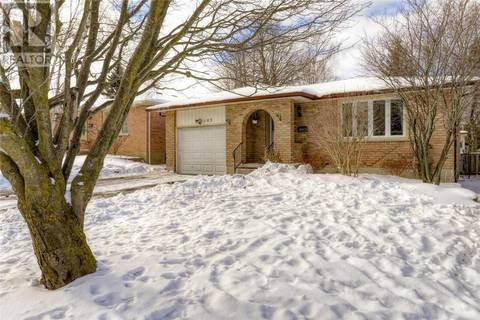 House for sale at 103 Morningdale Cres Waterloo Ontario - MLS: 30719867