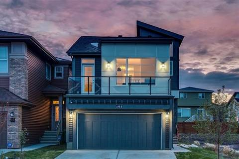 House for sale at 103 Sage Bluff Rd Northwest Calgary Alberta - MLS: C4271569
