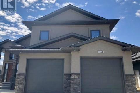 House for sale at 103 Warder Cv  Saskatoon Saskatchewan - MLS: SK774277