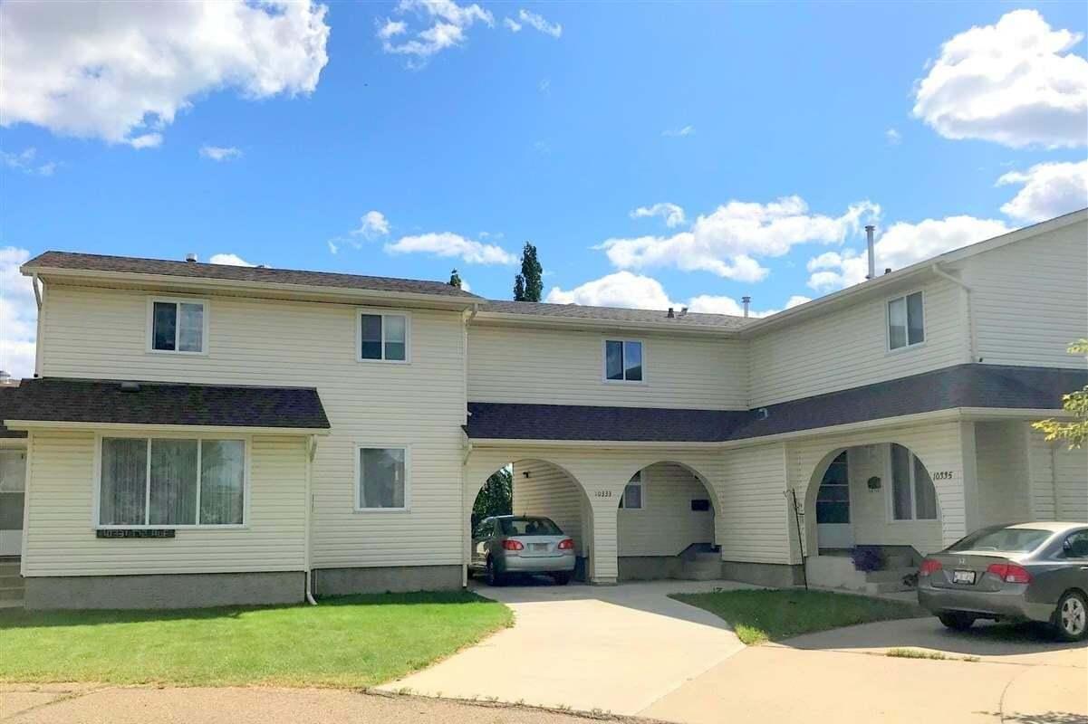 Townhouse for sale at 10333 172 Av NW Edmonton Alberta - MLS: E4209391