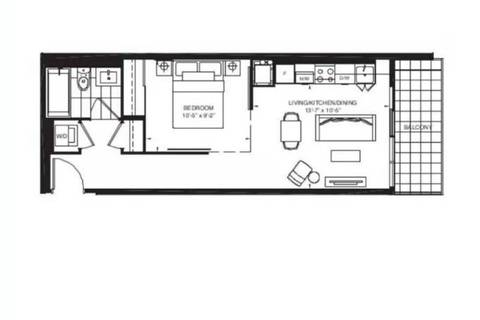 Condo for sale at 200 Dundas St Unit 1034 Toronto Ontario - MLS: C4633795