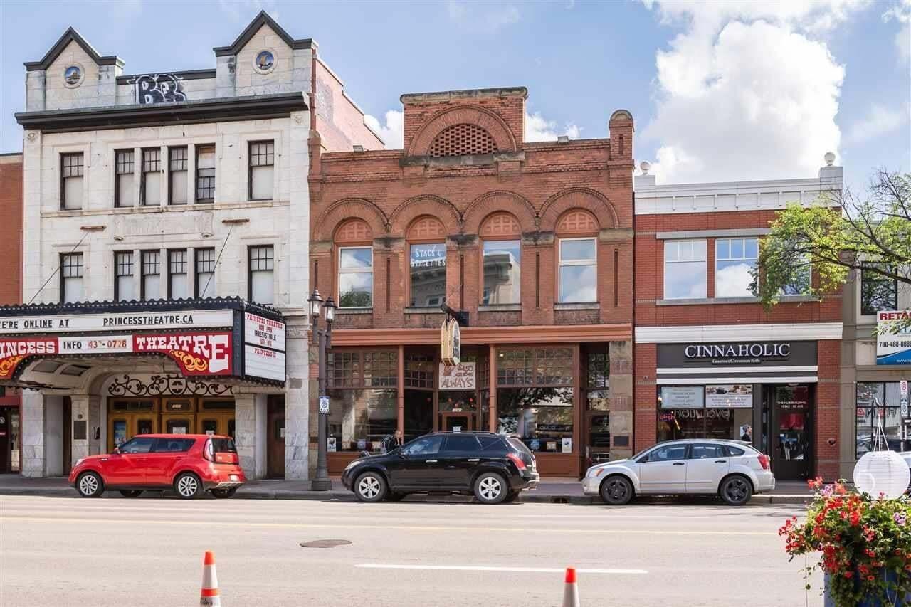 Commercial property for sale at 10341 82 Av NW Edmonton Alberta - MLS: E4204713