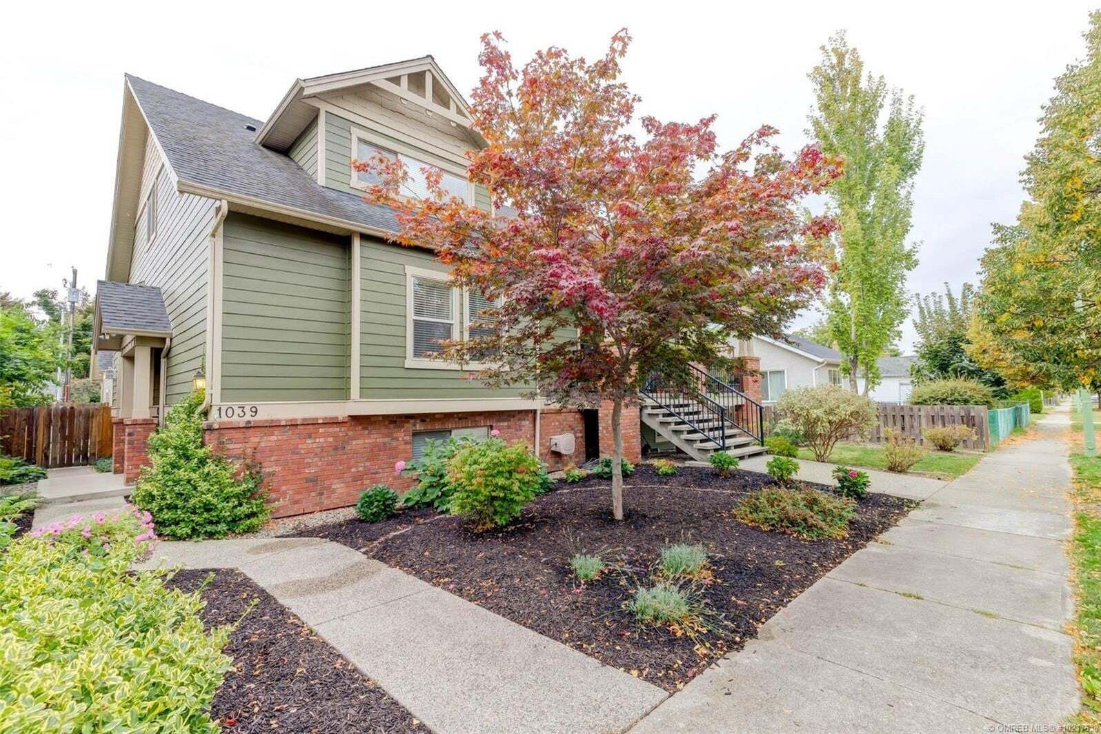 House for sale at 1039 Fuller Ave Kelowna British Columbia - MLS: 10217638