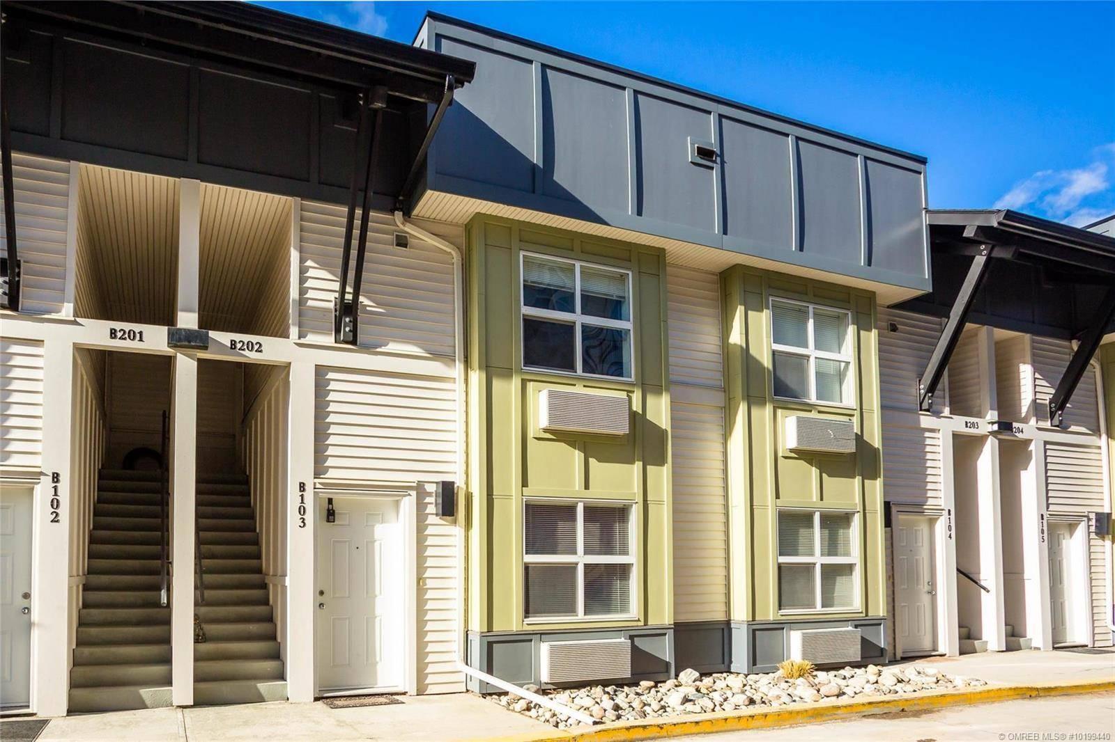 Condo for sale at 1477 Glenmore Rd Unit 103b Kelowna British Columbia - MLS: 10199440